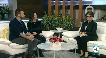 Dr. Gail Gross on Houston Life discussing dream interpretation with the hosts.