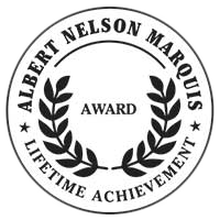 Albert Nelson Marquis Lifetime Achievement Award Badge