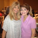 Dr Gross with Goldie Hawn at the Arizona Foundation for Women Sandra Day O'Connor Luncheon 2013