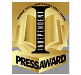 Independent Press Award 2021 gold seal logo