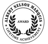 albert nelson marquis lifetime achievement badge
