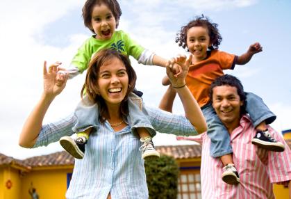 Parental involvement happy family
